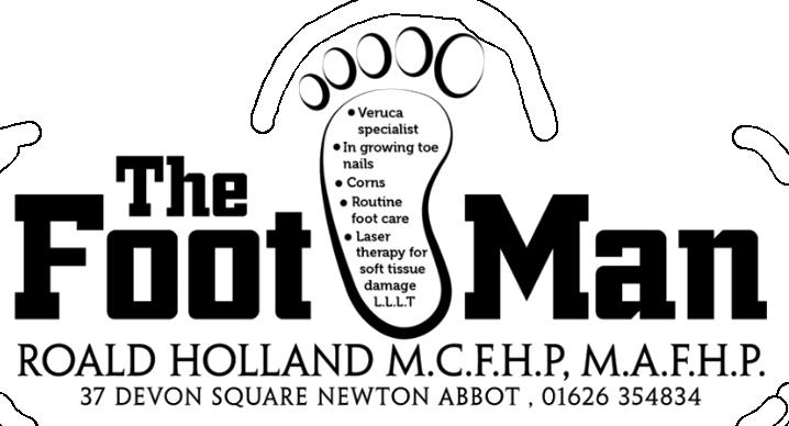Roald Holland The Foot Man Logo